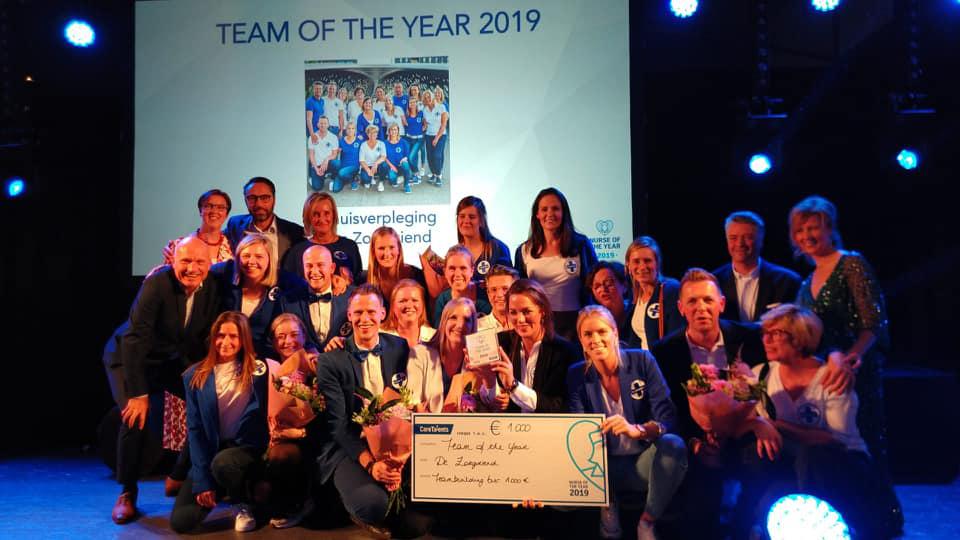 nurse team of the year 2019